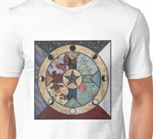 Mandala of the Seasons and Elements Unisex T-Shirt