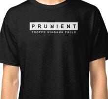 Prurient - Frozen Niagara Falls Classic T-Shirt