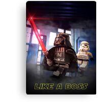 Darth Vader: Like a boss Canvas Print