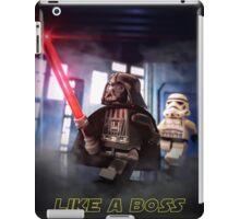 Darth Vader: Like a boss iPad Case/Skin