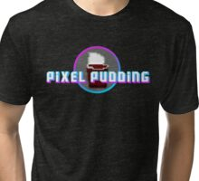 Pixel Pudding Tri-blend T-Shirt