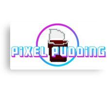 Pixel Pudding Canvas Print