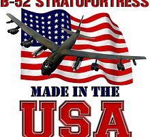 B-52 Stratofortress Made in the USA by Mil Merchant
