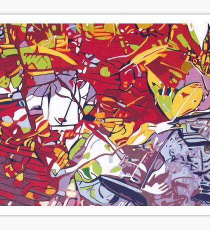 Daintree Reflection Sticker