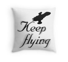 Keep Flying Throw Pillow