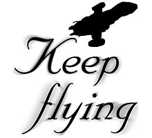 Keep Flying Photographic Print