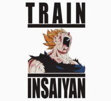 Train Insaiyan - Vegeta by irig0ld