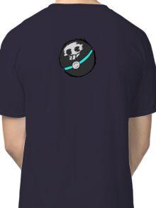 Skull Pokeball Design Classic T-Shirt
