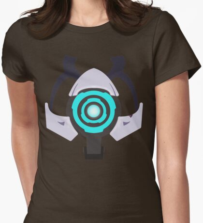 Minimalist Time Travel Kit Womens Fitted T-Shirt