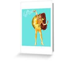 Castaspella - Enchantress who hypnotizes Greeting Card