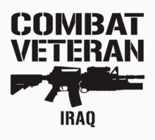 Combat Veteran - Iraq  by robotface