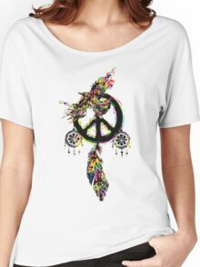Peace dream cather Women's Relaxed Fit T-Shirt