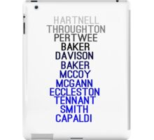 """The Doctors"" Design iPad Case/Skin"