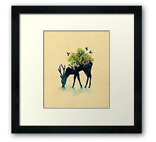 Watering (A life into itself) Framed Print