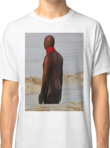 Gormley in the Surf (Digital Art) Classic T-Shirt