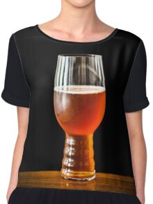 India Pale Ale in a Glass Chiffon Top
