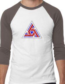 Alien UK Flag Patch Men's Baseball ¾ T-Shirt