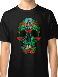 Floral Skull Classic T-Shirt