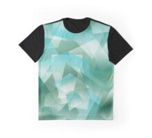 Abstract green geometric pattern Graphic T-Shirt