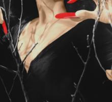 VAMPIRA RED LIP Sticker