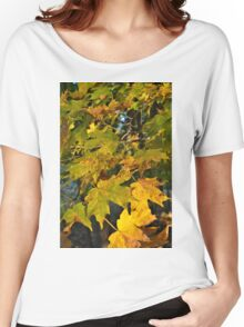 The Autumn Maple Women's Relaxed Fit T-Shirt