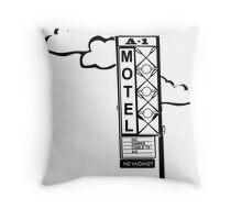 A-1 Motel Throw Pillow