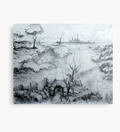 Uncovered Folklore Canvas Print