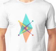 Double Arrow Square Unisex T-Shirt