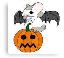 Hamster Bat  Canvas Print