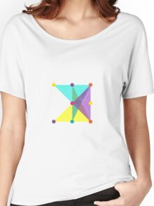 'Symmetrical' Square  Women's Relaxed Fit T-Shirt