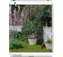 Rosalee Cottage Garden iPad Case/Skin