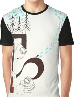 Question Marks-White Version Graphic T-Shirt
