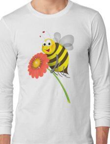 Honey Bee Long Sleeve T-Shirt
