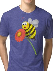Honey Bee Tri-blend T-Shirt