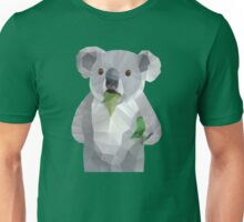 Koala with Koalafication Polygon Art Unisex T-Shirt