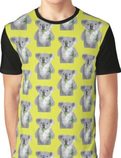 Koala with Koalafication Polygon Art Graphic T-Shirt