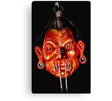 SHRUNKEN HEAD Canvas Print