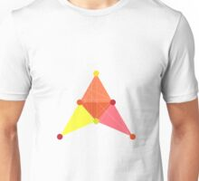 'Symmetrical' Triangle Unisex T-Shirt