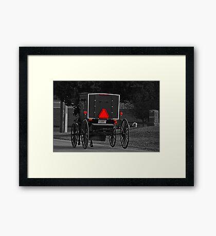 Going Home SC Framed Print