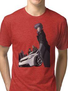 Motoko Anime Manga Shirt Tri-blend T-Shirt