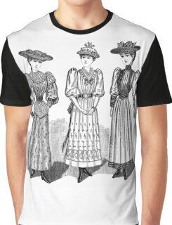 Victorian Ladies Graphic T-Shirt