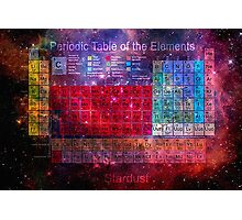 this is the periodic table of the elements Photographic Print