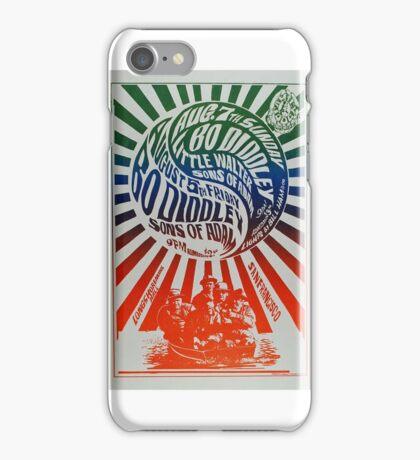 Classic 1960's Concert Art iPhone Case/Skin