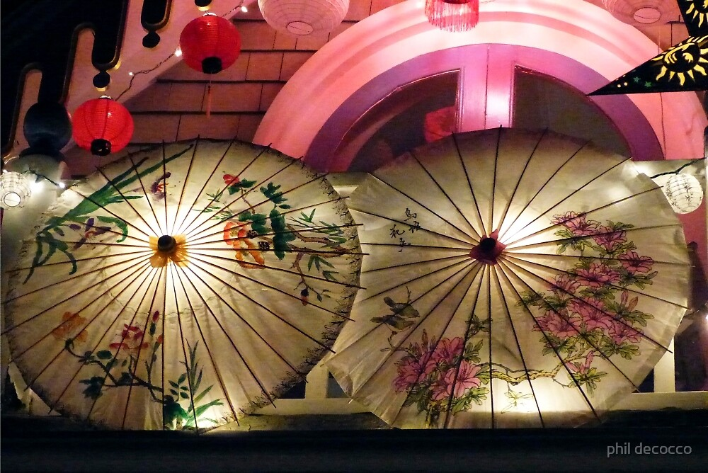 Roof Top Umbrellas by phil decocco