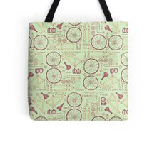 Bicycle Parts Tote Bag