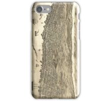 Vintage Pictorial Map of Halifax (1879) iPhone Case/Skin