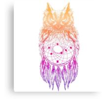 Dreamy Owl_Multi Pink Canvas Print