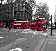 Routemaster Borismaster buses by santoshputhran