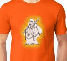 Buddha On His Way  Unisex T-Shirt