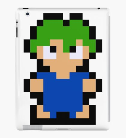 Pixel Lemming iPad Case/Skin